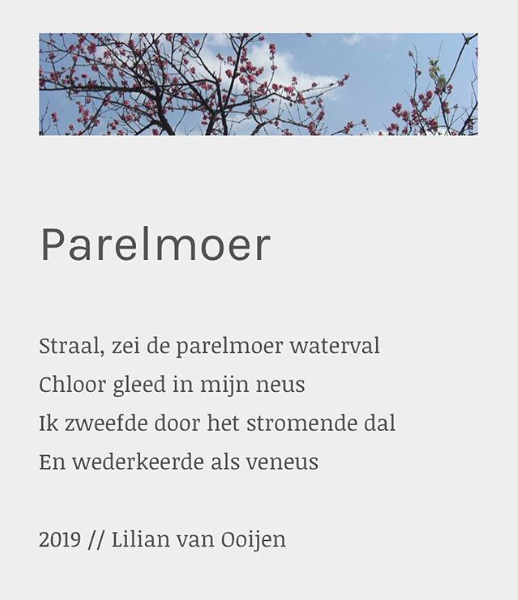 Parelmoer - Lil Poëzie, Lilian van Ooijen
