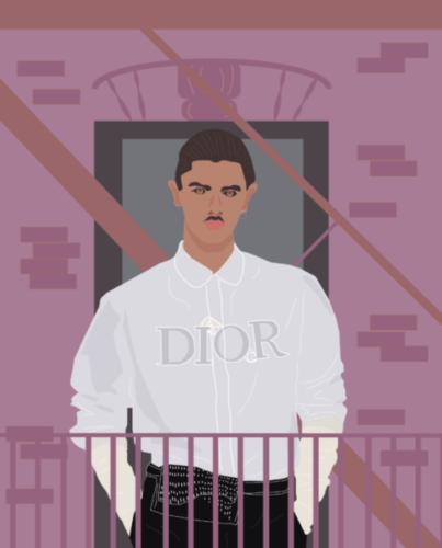 Man Dior NY - Lilian van Ooijen